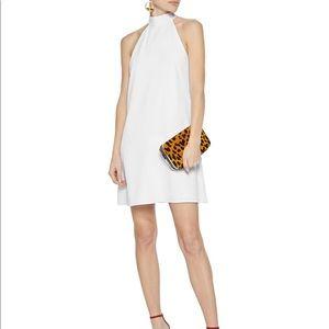 Alice + Olivia Susanna Crepe Mini Dress